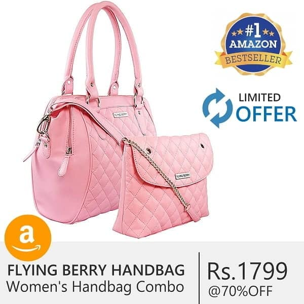 Best Women's Hand bag (with 70% OFF on Amazon) 1