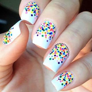 Dot Nail Art Design