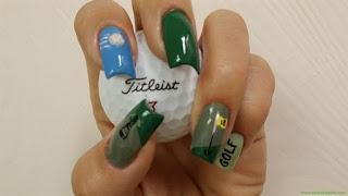Golf Nail Designs