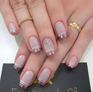 French Manicure Nail Art Designs
