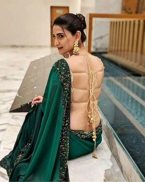 Multiple Dori Saree Blouse Design