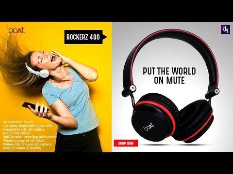 boAt Rockerz Best headphones under 2000