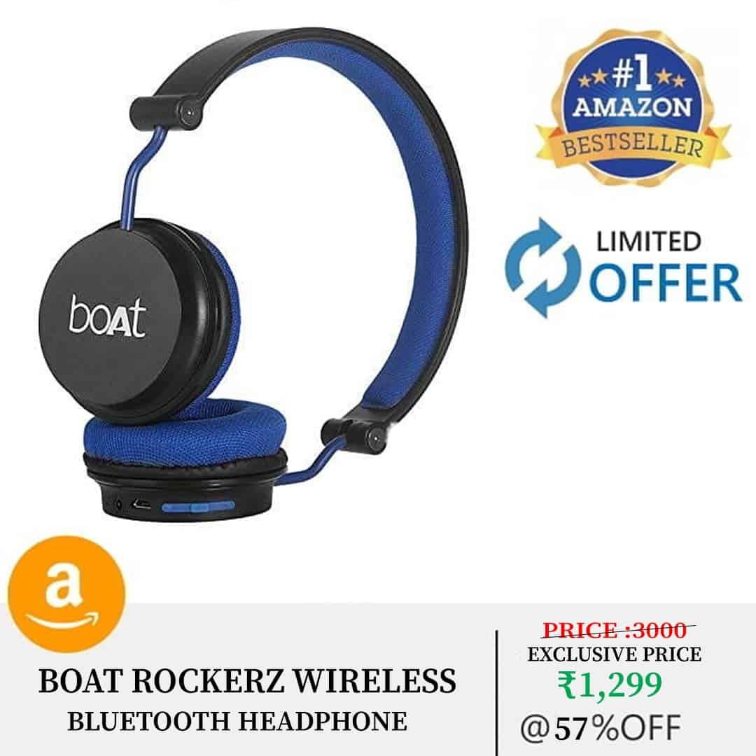 Best boat Headphones UP to 57% OFF on Amazon 1