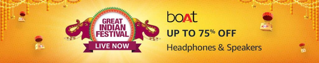 Amazon Great Indian Festival Sale Start in India 2021 UP to 50 to 80% OFF 51